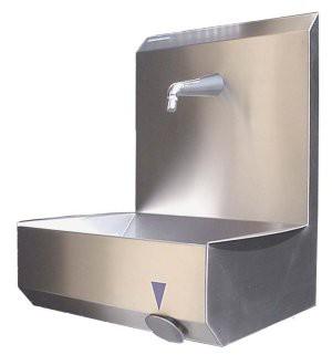 RVS Handwasbakken kniebediening