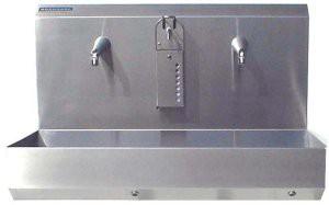 RVS Handwasbakken ST47 Eco sensor 2 P