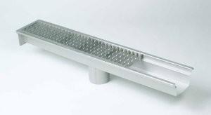 Model 670 afvoergoot zonder put voor beton, tegel en epoxy vloeren