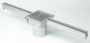Model 673 afvoergoot met put voor beton, tegel en epoxy vloeren
